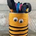 Faire un pot à crayon avec une boite de conserve : facile