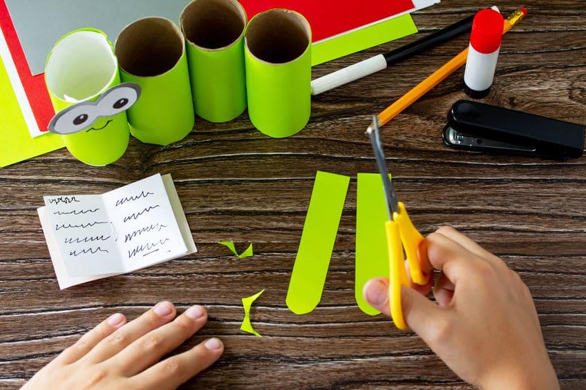 pot à crayon amusant bricolage