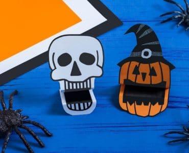 bricolage papier halloween