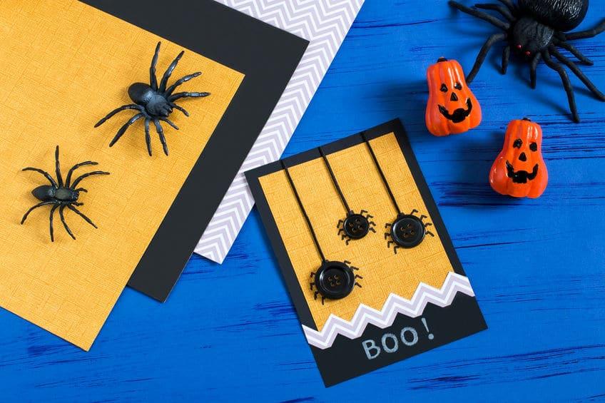 carte d'halloween à faire