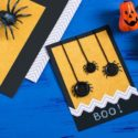 Carte d'Halloween à fabriquer