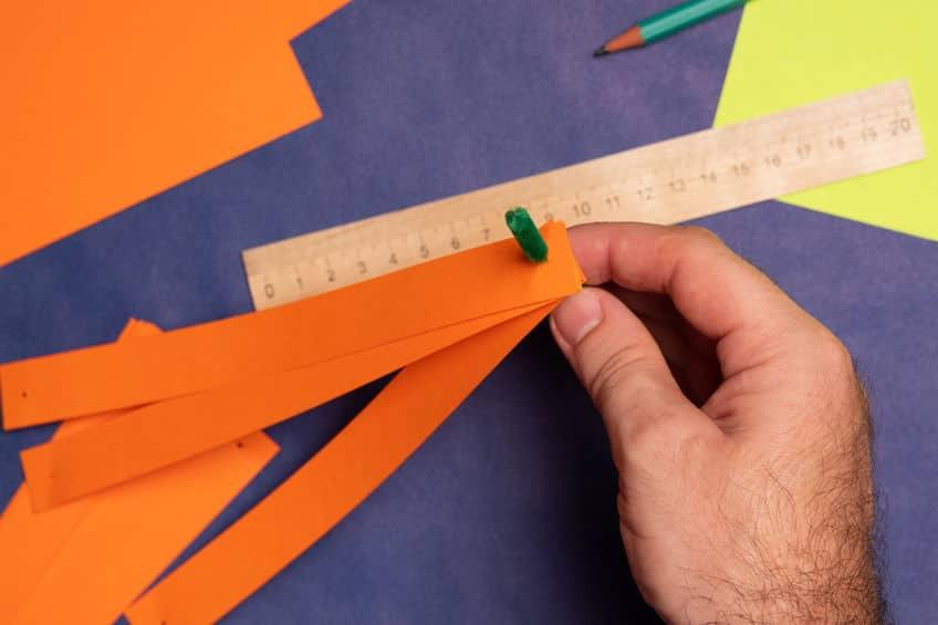 faire une citrouille en papier