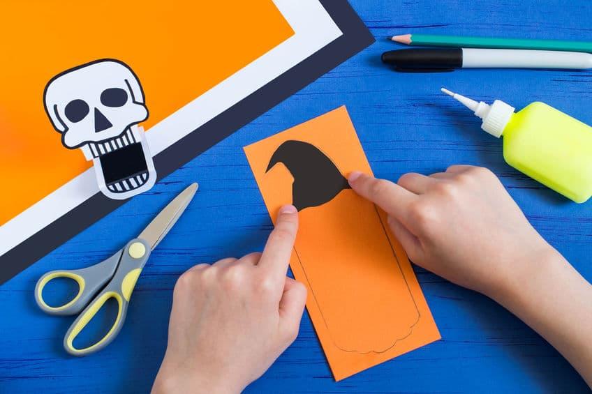 bricolage facile halloween papier