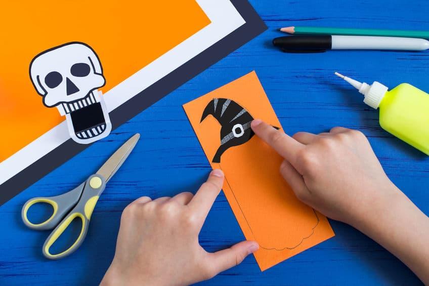 jouet en papier halloween
