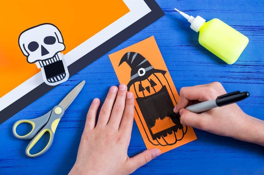 bricolage papier facile halloween