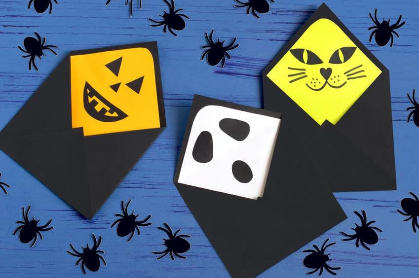 enveloppes halloween bricolage
