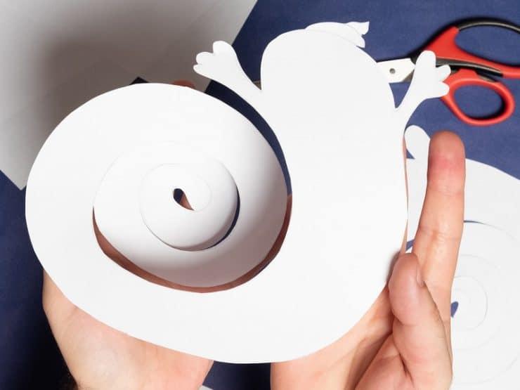 fantome en papier