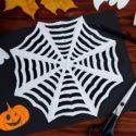 Faire une toile d'araignée en papier : tutoriel facile
