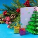 Carte sapin de Noël pop-up