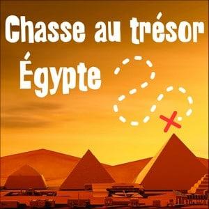 chasse au trésor egypte