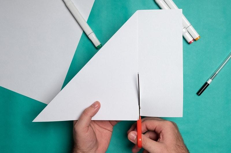 comment faire un flocon de neige en papier