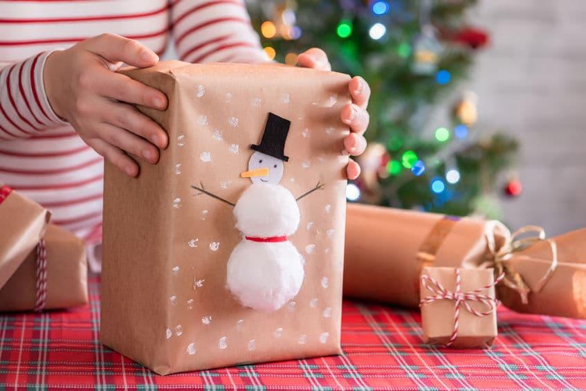 papier cadeau original enfant