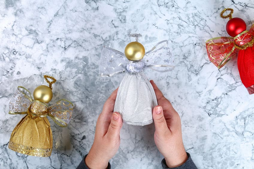 fabriquer un ange de noel