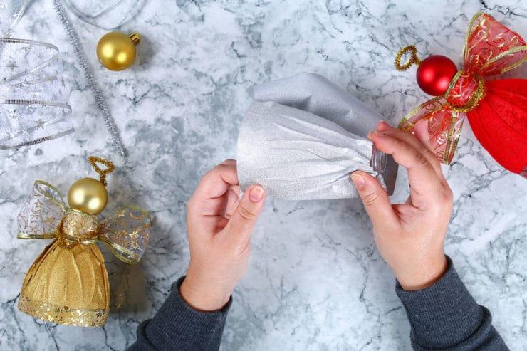 comment fabriquer un ange de noel