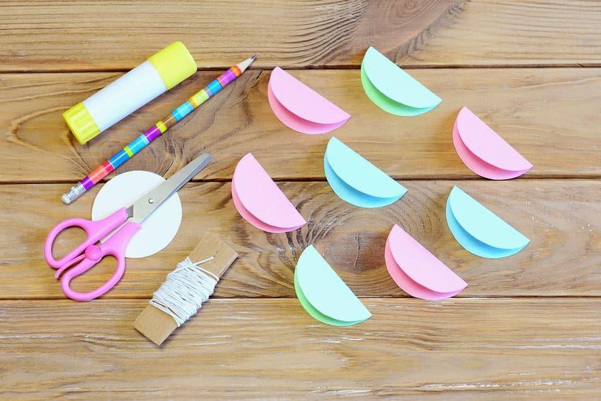 comment faire des boules de noel en papier