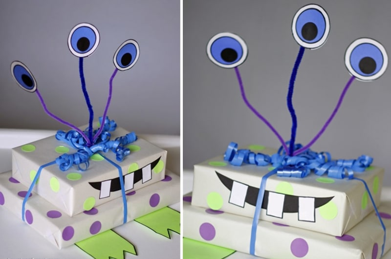 emballage cadeau original enfant