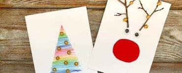 Carte Noël maternelle