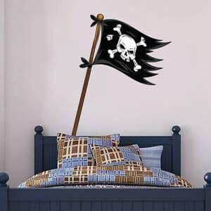 drapeau pirate chambre enfant