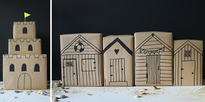 idées originales pour emballer un cadeau enfant