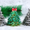 Sapin de Noël avec des pâtes
