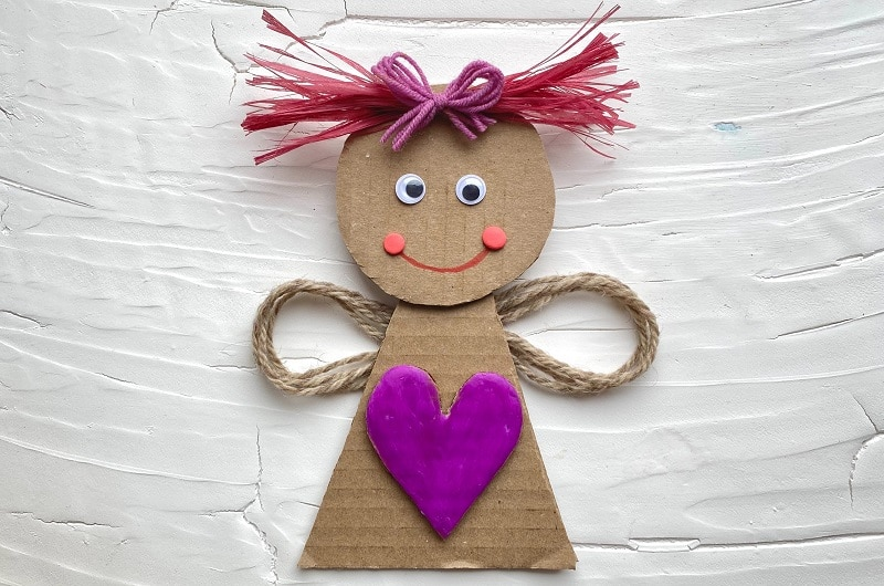 bricolage carton saint valentin