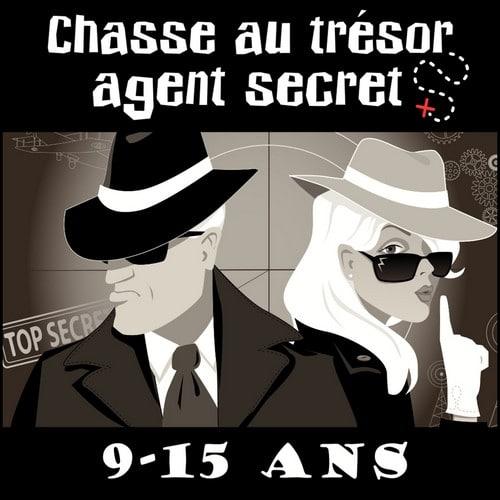 chasse au trésor agent secret