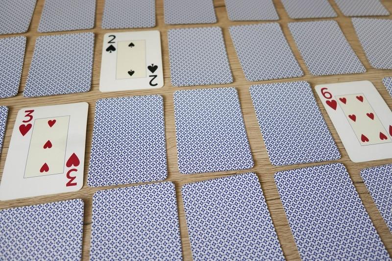 jeu de carte math
