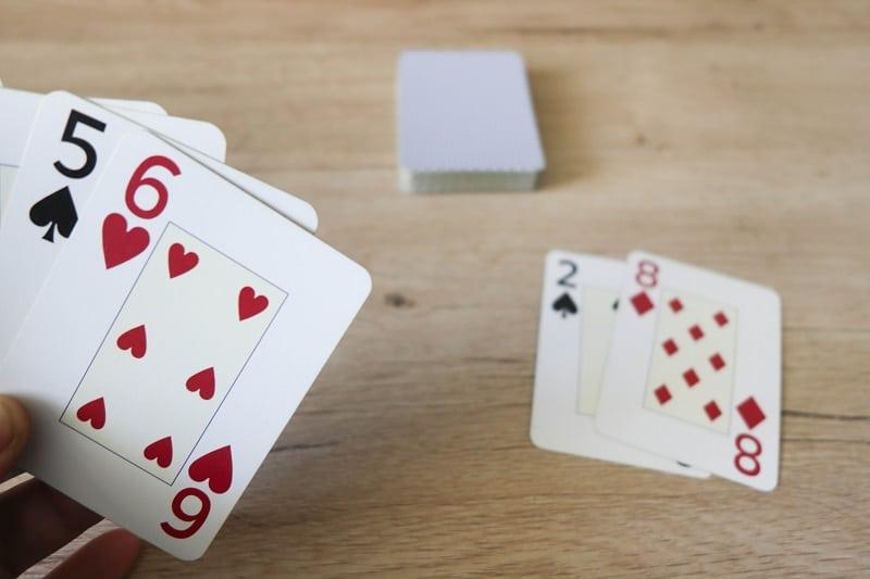 jeu de carte mathématiques