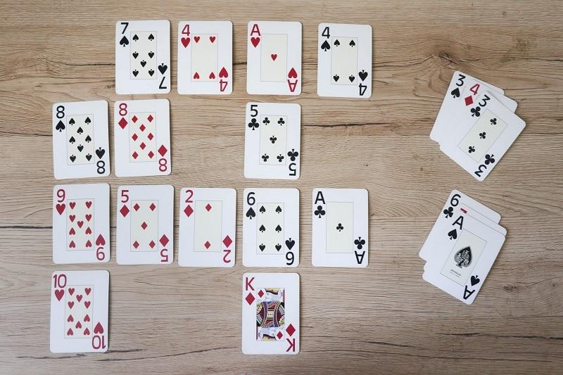jeu carte math