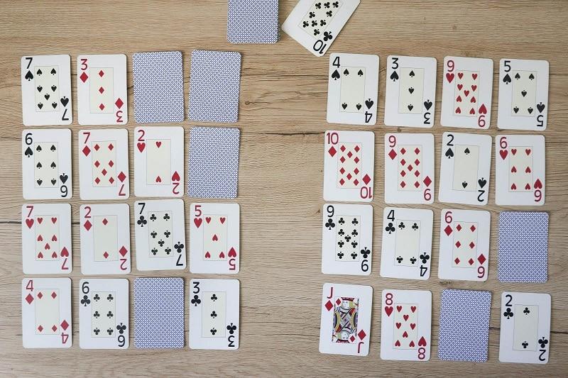jeux de carte mathématiques