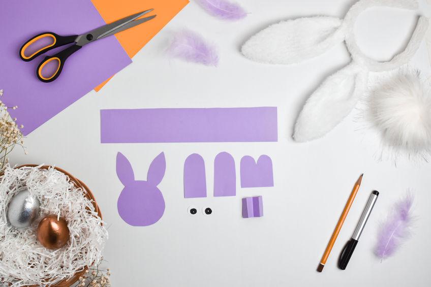 fabriquer un lapin en papier facilement