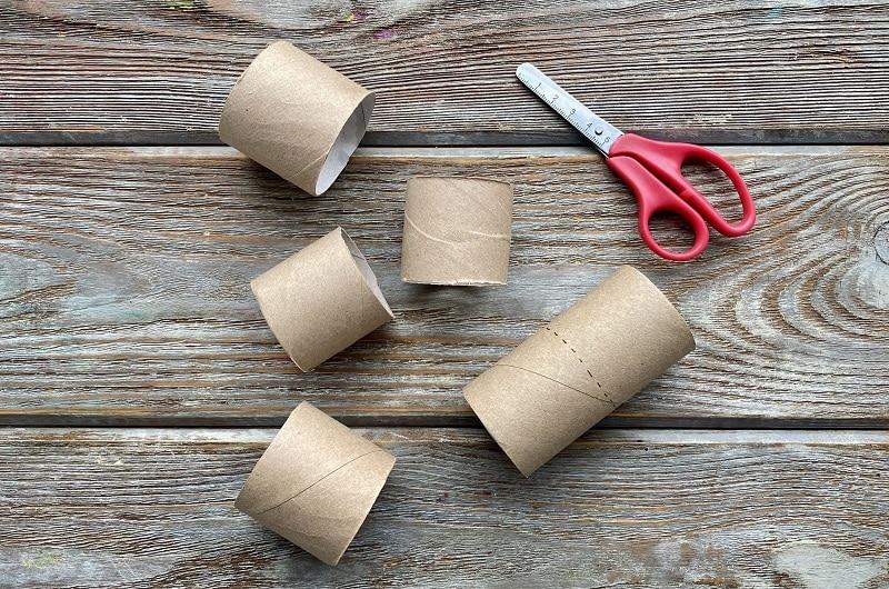 bricolage rouleau papier toilette