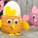Fabriquer une poule de Pâques
