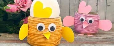 fabriquer une poule de paques