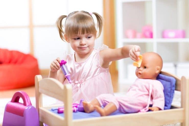 avantages jouer poupée