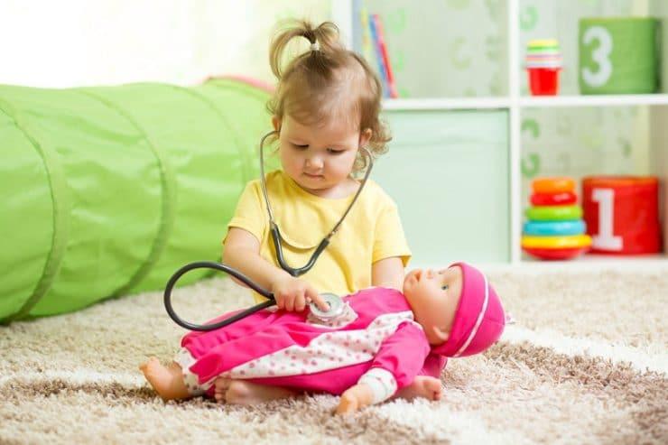 bienfaits jouer poupée