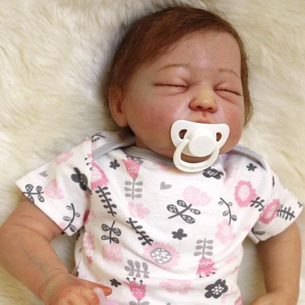 poupée baby reborn noir