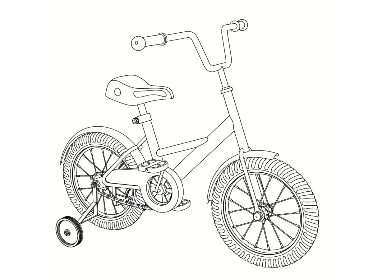 colorier vélo