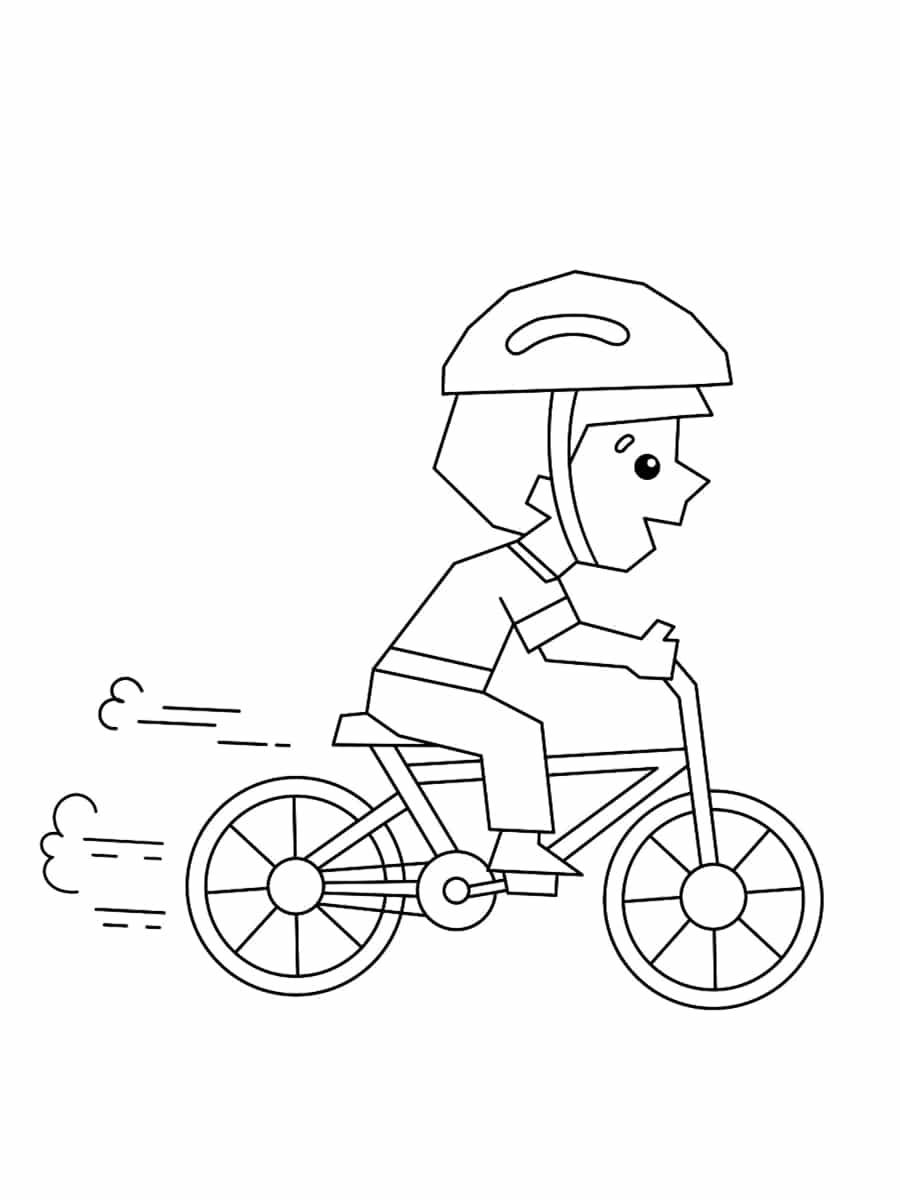 colorier un vélo