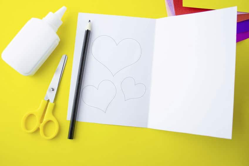 dessiner des coeurs