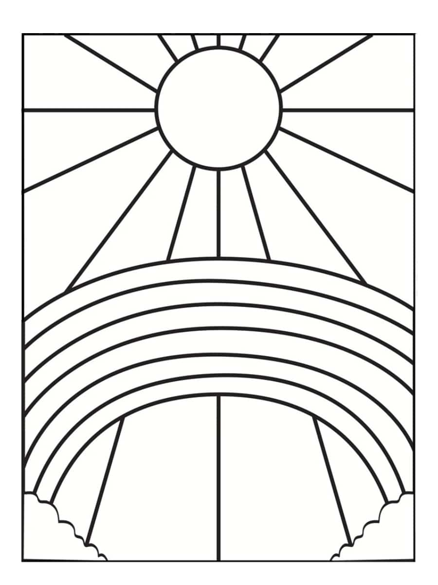 Coloriage soleil  32 modèles à imprimer
