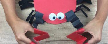 bricolage crabe