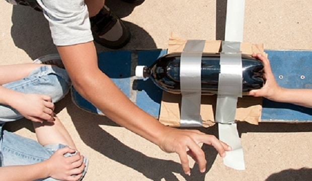 fusée planche à roulettes