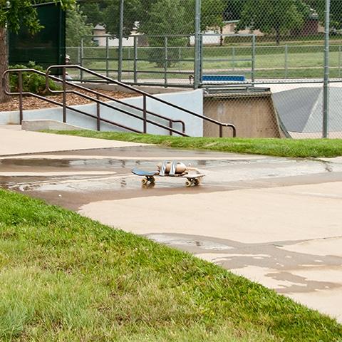 expérience skateboard coca mentos