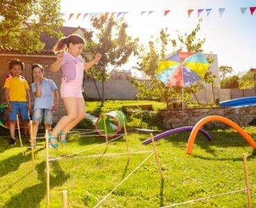 Comment fabriquer des jeux de jardin pour enfants