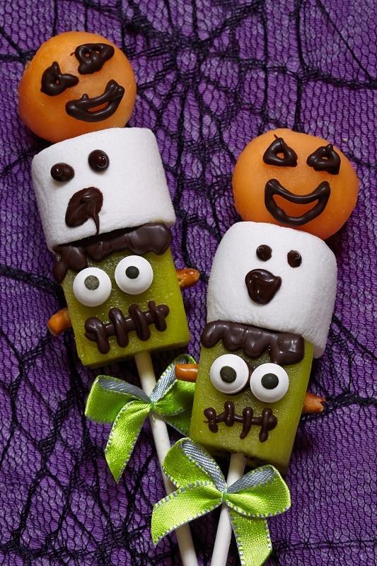 brochettes d'halloween