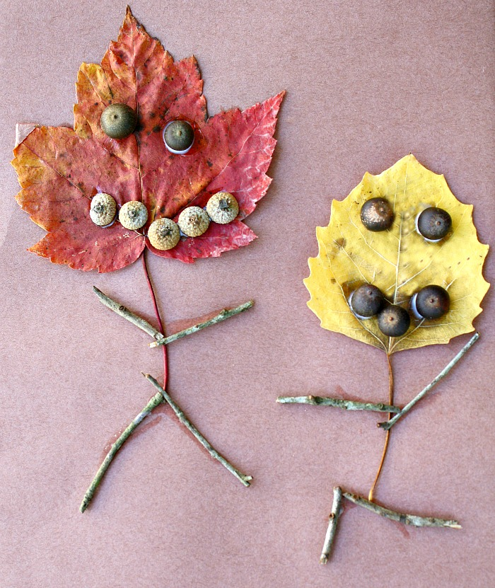 etres de la nature feuilles
